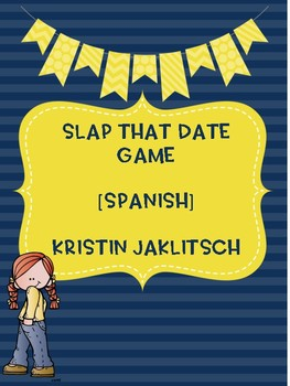 Spanish Date Game - Slap The Date!