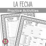 Spanish Date Practice Packet   La fecha