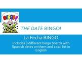 Spanish Date/La Fecha BINGO Pack