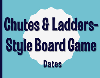 Spanish Dates Chutes and Ladders-Style Game