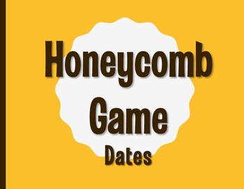 Spanish Dates Honeycomb Partner Game