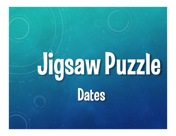 Spanish Dates Jigsaw Puzzle