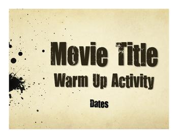 Spanish Dates Movie Titles