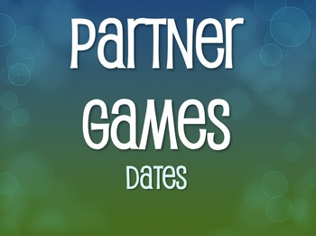 Spanish Dates Partner Games