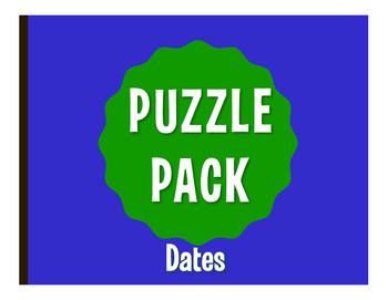 Spanish Dates Puzzle Pack