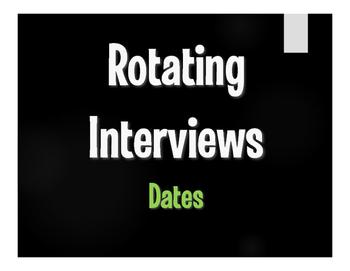 Spanish Dates Rotating Interviews