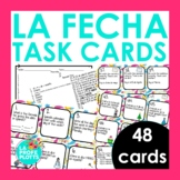 Spanish Days, Months, and Dates Task Cards | Spanish La Fe