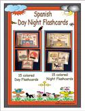 Spanish Day Night Vocabulary Cards
