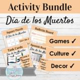 Spanish Day of the Dead Activity and Decor BUNDLE | El Día