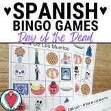 Spanish Day of the Dead - Dia de Los Muertos Bingo Game