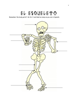 Spanish Day of the Dead; Body Parts