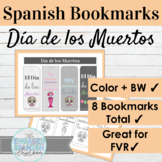 Spanish Day of the Dead Bookmarks