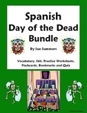 Spanish Day of the Dead Bundle - Vocabulary, Flashcards, Quiz & More
