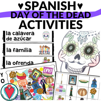 Spanish Day of the Dead Bundle - Word Search, Crossword & Bingo