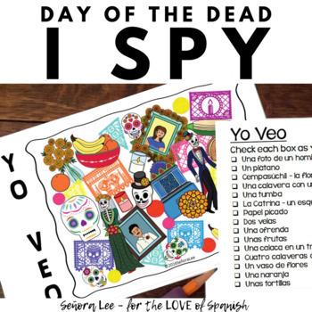 Spanish Day of the Dead Activities | Día de los Muertos Bundle