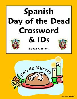 Spanish Day of the Dead Cro... by Sue Summers | Teachers Pay Teachers