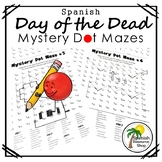 Spanish Day of the Dead Mystery Dot Mazes