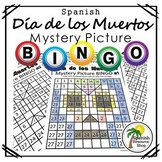 Spanish Day of the Dead Mystery Picture Bingo 1