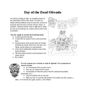 Spanish Day of the Dead Review Project