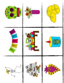 Spanish Day of the Dead Story & Flashcards for Novices