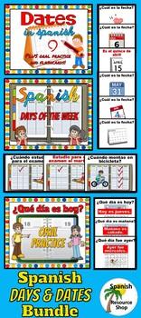 Spanish Days and Dates BUNDLE
