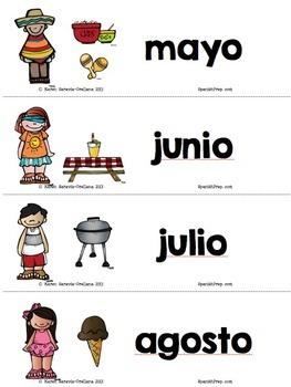 Spanish Days and Months Mini Bundle