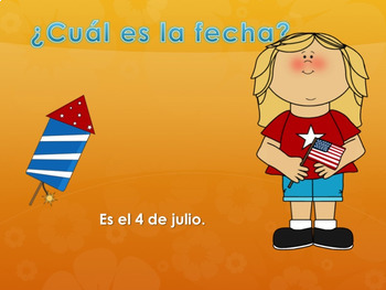 Spanish Days and Months Power Point and Activities