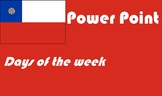 Spanish Days of The Week Powerpoint distance learning