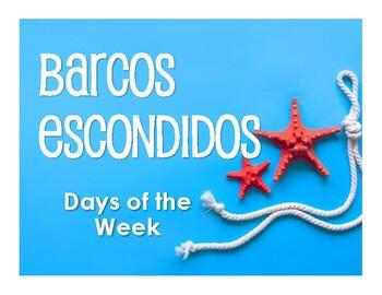 Spanish Days of the Week Battleship-Style Game