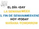 Spanish Days of the Week, Months, Saying the Date