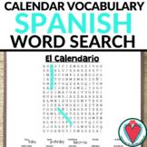 Spanish Days of the Week, Months, Seasons - Calendar Vocab