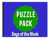 Spanish Days of the Week Puzzle Pack