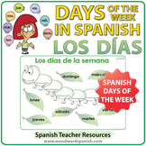 Spanish Days of the Week Worksheet - The Caterpillar - La Oruga