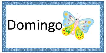 Spanish --> Days of the week! // Español --> Días de la semana! :)