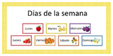 Spanish --> Days of the week! // Español --> Días de la se