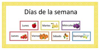 Spanish --> Days of the week! // Español --> Días de la se