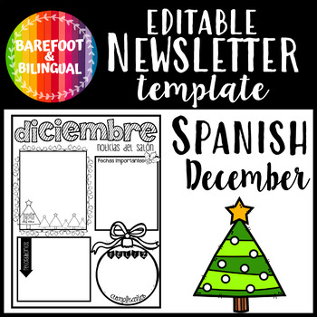 Spanish December Newsletter