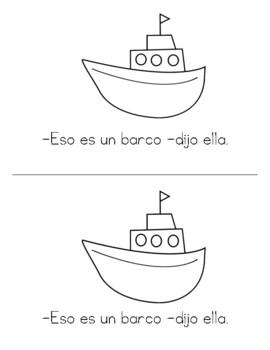 Spanish Decodable Books  {Libros decodificables del alfabeto} - Book 15: Bb