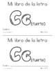 Spanish Decodable Books  {Libros decodificables del alfabeto} - Book 19: Cc (f)