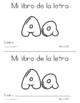 Spanish Decodable Books  {Libros decodificables del alfabeto} - Book 2: Aa