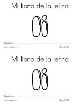Spanish Decodable Books {Libros decodificables del alfabeto} - Book 3: Ii