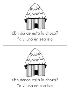 Spanish Decodable Books {Libros decodificables del alfabeto} - Book 30: Ch ch