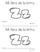 Spanish Decodable Books {Libros decodificables del alfabeto} - Book 31: Zz