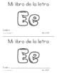 Spanish Decodable Books  {Libros decodificables del alfabeto} - Book 5: Ee