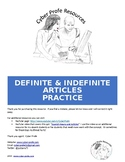 Spanish Definite and Indefinite Articles Practice