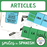 Spanish Definite and Indefinite Articles
