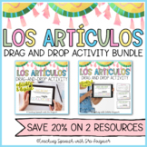 Spanish Definite and Indefinite Articles Drag & Drop Activ