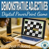 Spanish Demonstrative Adjectives Game  - Spanish Game and