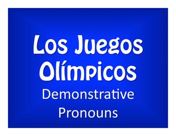 Spanish Demonstrative Pronoun Olympics