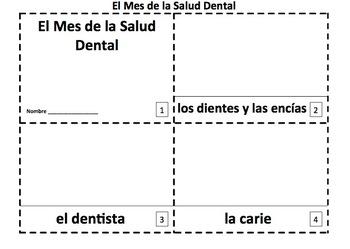 Spanish Dental Health Month 2 Booklets - El Mes de la Salud Dental
